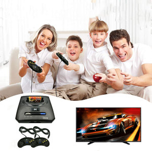 Image 1 - Retro 16Bit TV Video Arcade Game Console Joystick For SEGA Compatible Machine 246 In 1 Game Cassette Card Dual Wired Gamepads