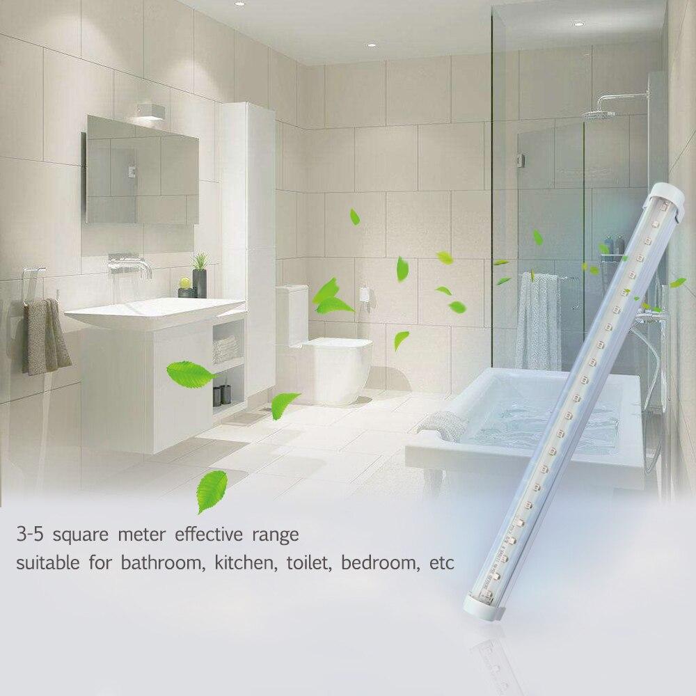 Matar 99.9% vírus led barra fornecer ar fresco led germicida lâmpada ultravioleta para banheiro, cozinha, wc com 2835smd grânulos