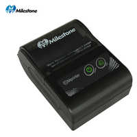 Milestone Portable Thermal Printers receipt bill 58mm Mini Bluetooth Printer Wireless Windows Android IOS Pocket Printer MHT-P10