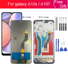Voor Samsung Galaxy A10s Lcd Digitizer A107/Ds A107F A107FD A107M Display Met Frame Touch Screen Digitizer Voor Samsung a10S Lcd