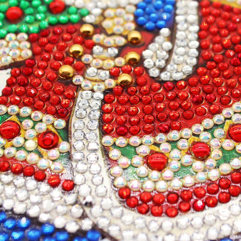 5D bricolage diamant peinture lampe décoration de noël à LED pour la maison père noël noël bonne année décoration décor à la maison