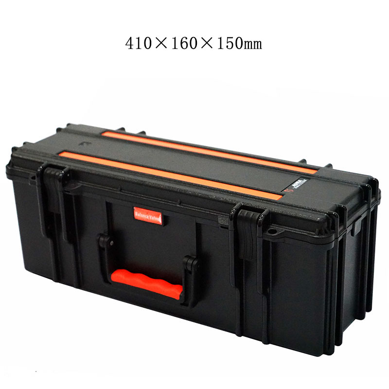 41x16x15cm toolbox equipment instrument case safety protection outdoor suitcase waterproof shockproof with sponge