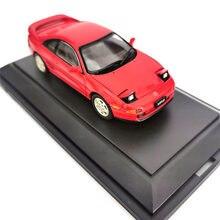 Diecast 1:43 escala mr2 sw20 1989 liga simulação modelo de carro decoração adulto coleção exibição presentes lembrança collectible mostrar
