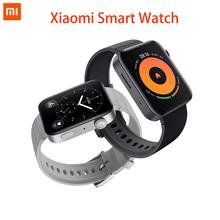 Xiaomi MI-smartwatch zegarek GPS NFC WiFi ESIM bransoletka rozmowy telefoniczne Android na rękę sportowy Bluetooth fitness pulsometr tracker tanie tanio Android Wear Android OS Na nadgarstku Wszystko kompatybilny 1 gb Passometer Fitness tracker Uśpienia tracker Wiadomość przypomnienie