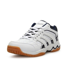 Lightweight Badminton Shoes for Men Women Breathable Anti-Slippery Tennis Sneakers Lace-up Sport Shoes Training Athletic Unisex