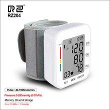 Цифровой тонометр RZ на запястье, прибор для измерения артериального давления, сердечного ритма, медицинское оборудование, прибор, мини сфигмоманометр