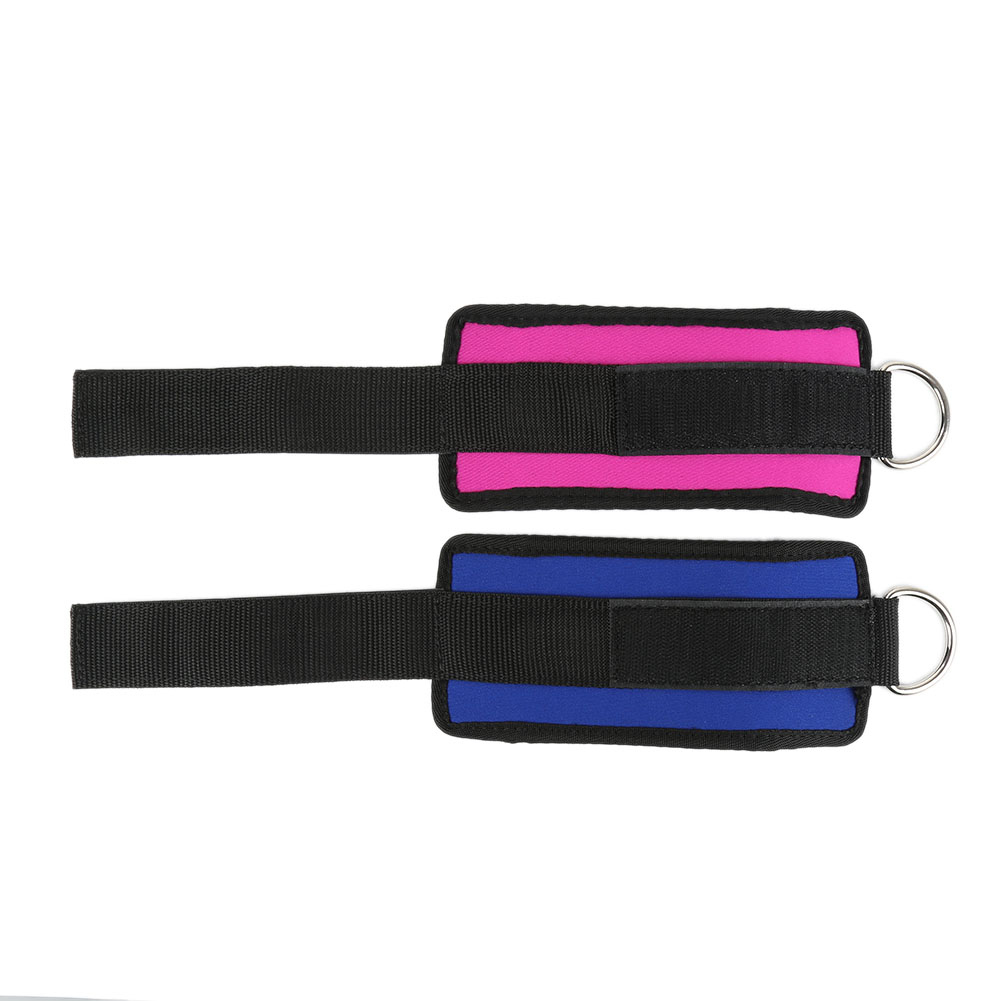 Exercise Equipment Body Building D ring Ankle Strap Buckle Gym Newest Multi Thigh Leg Ankle Cuffs
