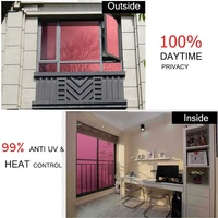 120cmx4m Thermal Insulation Window Sticker Antiseptic One Way Mirror Home Decoration Privacy Protection Durable Tint Foil