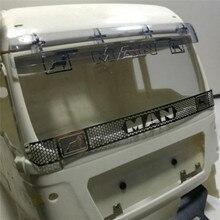 Металлическая взрывобезопасная сетка Передняя решетка для Tamiya 1/14 Man 540 56325 RC трактор Запчасти для грузовика с прицепом