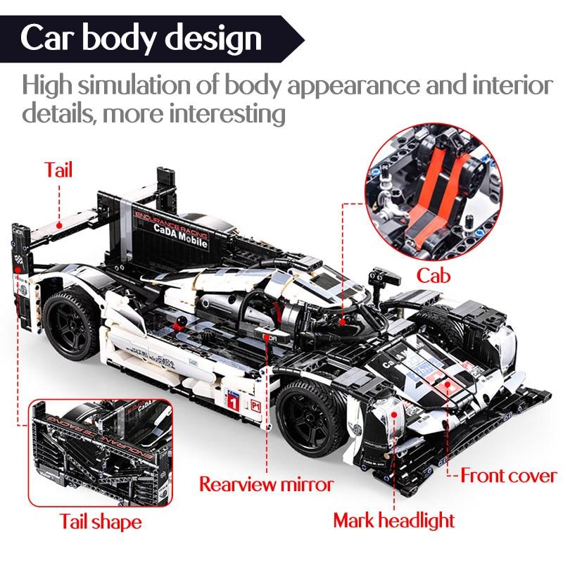 Cada C61016 City Technical RC/non-RC Endurance Racing Car