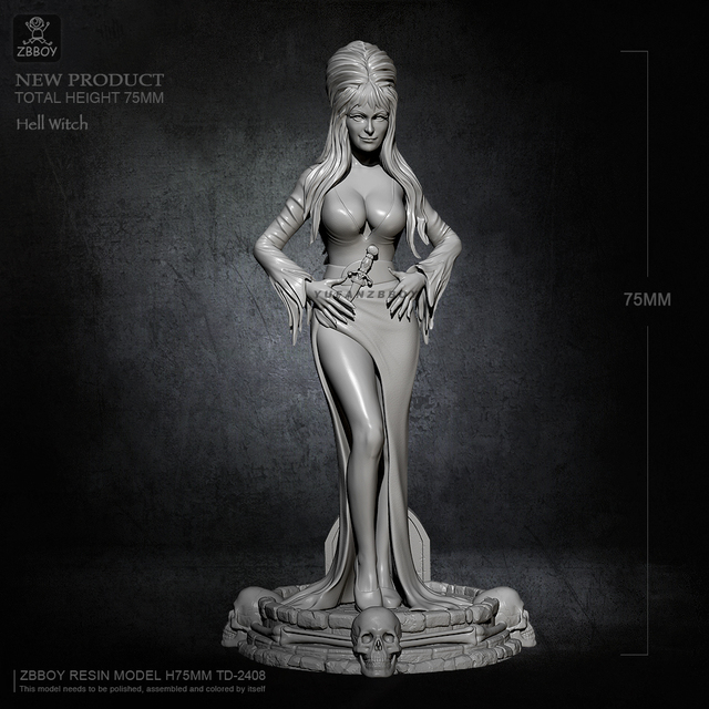 Hell Witch 75mm.