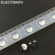 10 pces/50 pces 47f 16v47uf elna rv3 série 5x5.3mm 16v47uf chip tipo smd alumínio capacitor eletrolítico