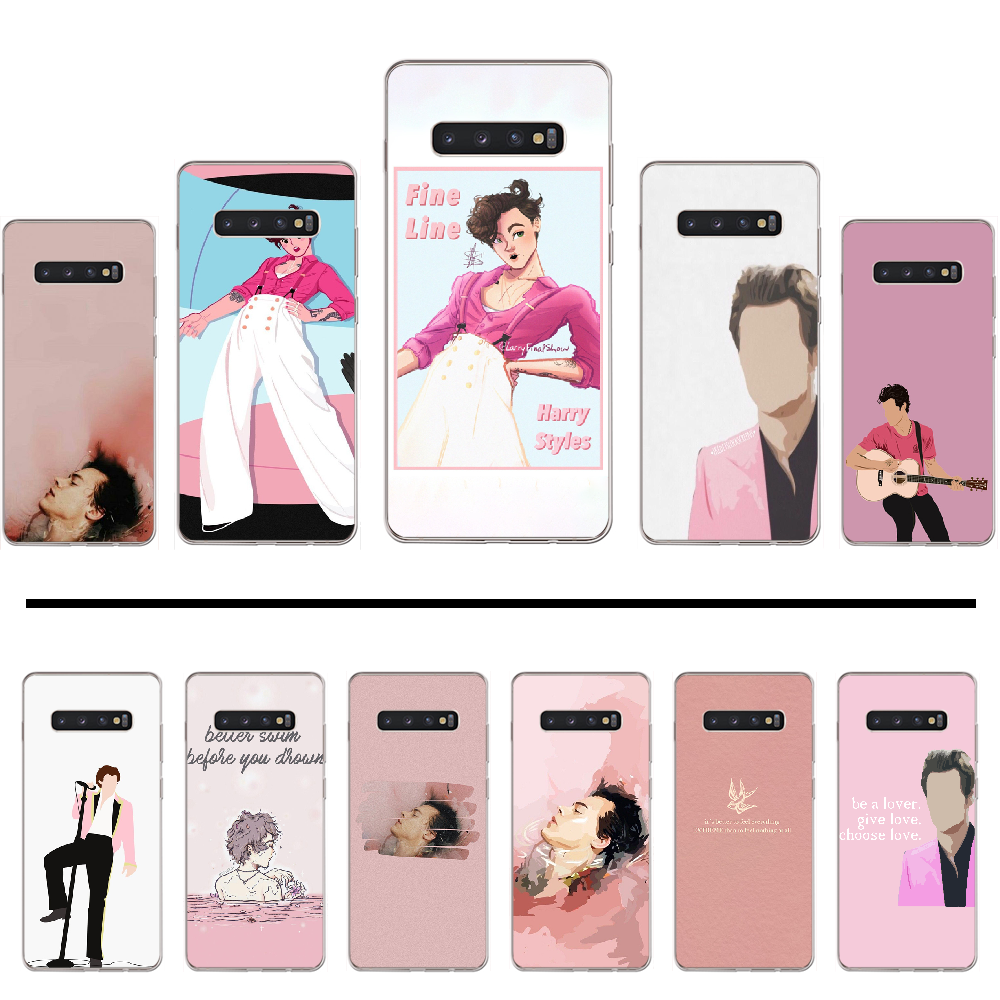 <font><b>harry</b></font> <font><b>styles</b></font> Treat People With Kindness Painted Bling <font><b>Phone</b></font> <font><b>Case</b></font> For <font><b>Samsung</b></font> Galaxy <font><b>S5</b></font> S6 S7 S8 S9 S10 S10e S20 edge plus lite image