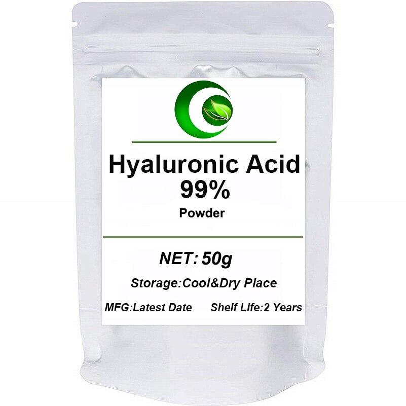 99% Hyaluronan Acid Powder,Increase Skin Elasticity,Postpone Skin Aging Remove Skin Wrinkles,Retain Moisture,Face Skin Whitening