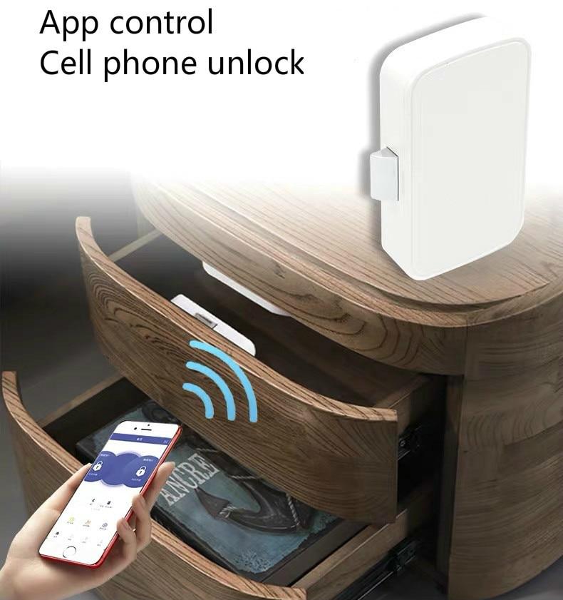 Intelligent Electronic Bluetooth Lock App control File Lock shoe Storage Cabinet letter box Lock Door Drawer Furniture Lock