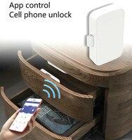 Intelligent Electronic Bluetooth Lock App control File Lock shoe Storage Cabinet letter box Lock Door Drawer Furniture Lock Electric Lock     -