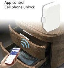 цена на Intelligent Electronic Bluetooth Lock App control File Lock shoe Storage Cabinet letter box Lock Door Drawer Furniture Lock