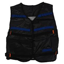 Top Tactical Vest For 12 Darts and 4 Ammo Clips In Nerf N Strike Games Black(China)