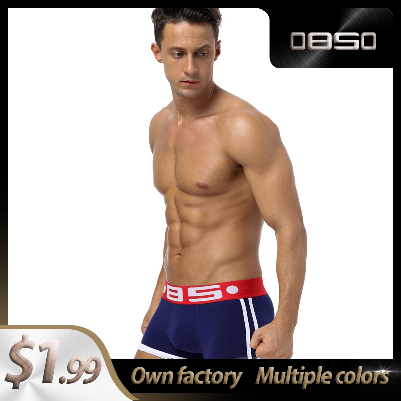 Panties BS Cotton Patchwork Comfortable Sexy Men Underwear Boxer Shorts 2020 New Innerwear Mens Boxershorts Underware Boxers Top