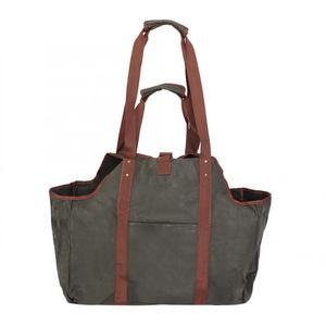 Image 2 - Bolsa de almacenamiento duradera para el hogar, bolsa de madera encerada, portátil de viaje, grande, gruesa, organizador bolsa