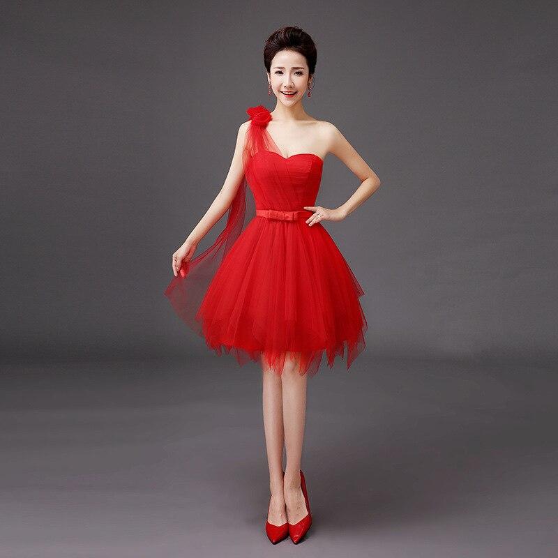 2020 Real Top Fashion Scoop Bosom Chiffon Dress Fashion Brief Paragraph Bitter Fleabane Skirt Bridesmaid Dresses