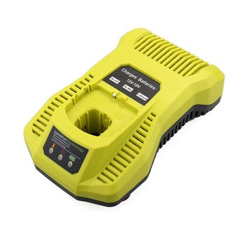 Battery Charger,Battery Pack Power Tool,Rechargeable For Ryobi P117,Ni-Cd Ni-Mh Li-Ion Battery Charger Plastic eleoption with charger 18v 5000mah li ion rechargeable battery for ryobi 18v battery and charger p108 p310 for one biw180