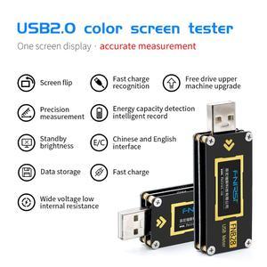 Image 1 - FNB28 Hiện Tại Và Đồng Hồ Đo Điện Áp USB Bút Thử QC2.0/QC3.0/FCP/SCP/AFC Sạc Nhanh Giao Thức Kích Hoạt công Suất Thử Nghiệm