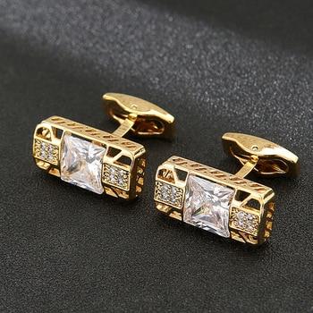 Rhinestone Luxury  Men's Cufflinks  1