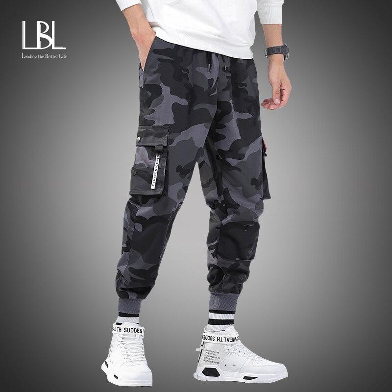 Мужские брюки шаровары s Jogger, камуфляжные брюки карго в стиле милитари, свободные удобные брюки карго, для лета, M 8XL 2020 Повседневные брюки      АлиЭкспресс
