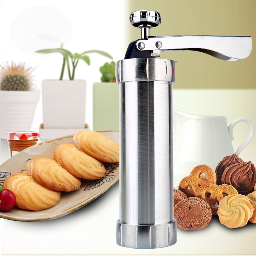 Biscuit Maker Cookie Gun Machine Cookie Making Cake Decoration Press Molds Pastry Piping Nozzles Cookie Press Set Kitchen Tools