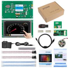 4:3 high resolution 5.6 display touch screen monitor with ttl port