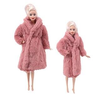 Image 3 - 15 نوع جودة عالية الملابس المصنوعة يدويا فساتين ينمو الزي الفانيلا معطف لفستان دمية باربي للفتيات أفضل هدية