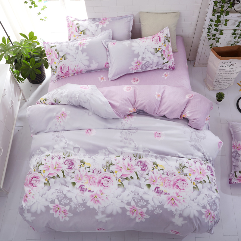 1PCS Classic Bedding Sheet Aloe Vera Cotton Soft Qualified Comfortable 120 210cm 150 230cm 180 230cm