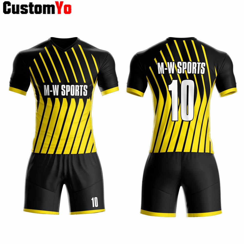 Factory retail customize top quality football uniforms shirt marker soccer wear