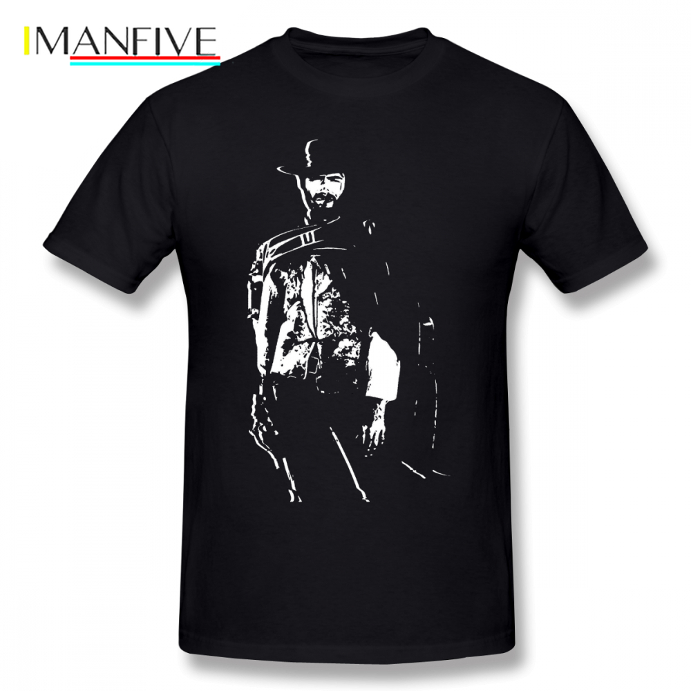 Clint Eastwood T Shirt CLINT EASTWOOD T-Shirt Streetwear XXX Tee Short Sleeves Funny Printed Mens Cotton Tshirt
