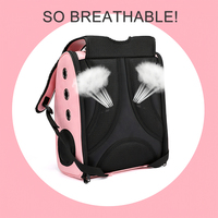 New Breathable Pet Carrier Backpack Space Capsule Cat Carrier Dog Carrier Transparent Cover Outdoors Pet Backpack