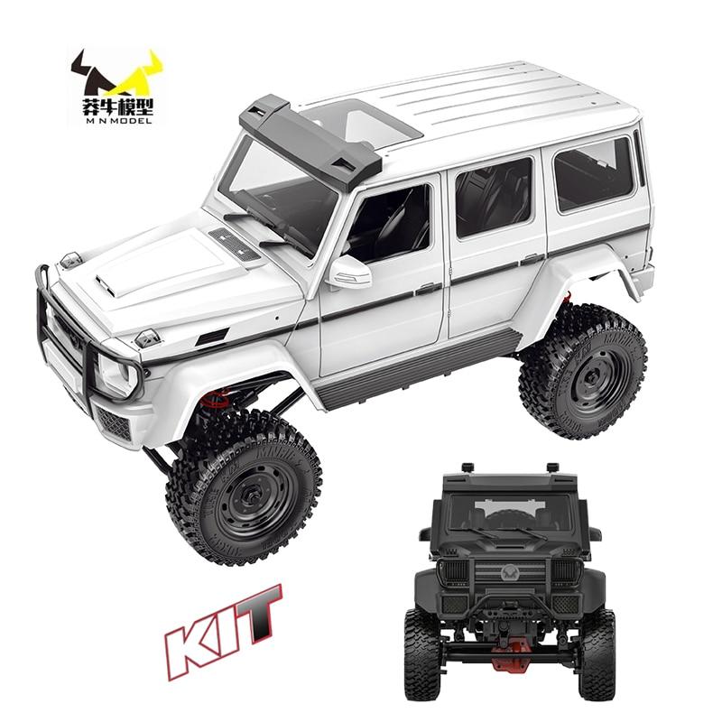 MN Car MN86K комплект 1:12 2,4G 4WD несобранный G500 230 мм Колесная база гусеничный внедорожник WPL MN Радиоуправляемый автомобиль 1/12 DIY 390 щеточный двигате...