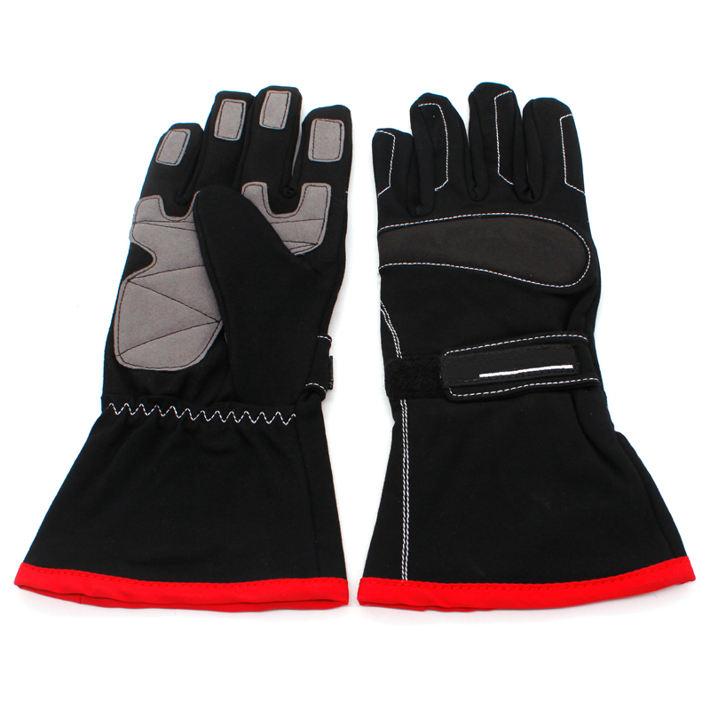 Motorcycle Full Finger Gloves Protective Racing Motocross Helmet Mask Fireproof Car Racing Kart Drift Suit Motorbike Racers Suit