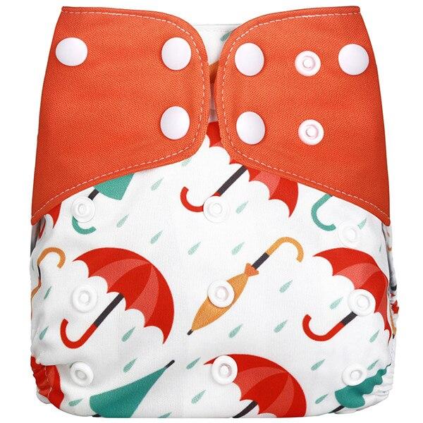 [Simfamily] 1 шт. многоразовые тканевые подгузники, регулируемые детские подгузники, моющиеся подгузники, подходят для 3-15 кг детские подгузники - Цвет: NO2