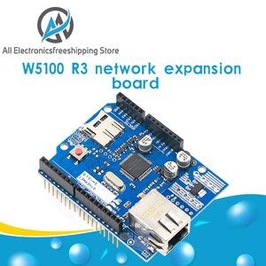 Ethernet щит W5100 R3 Поддержка PoE для Arduino для UNO Mega 2560 Nano Бесплатная доставка