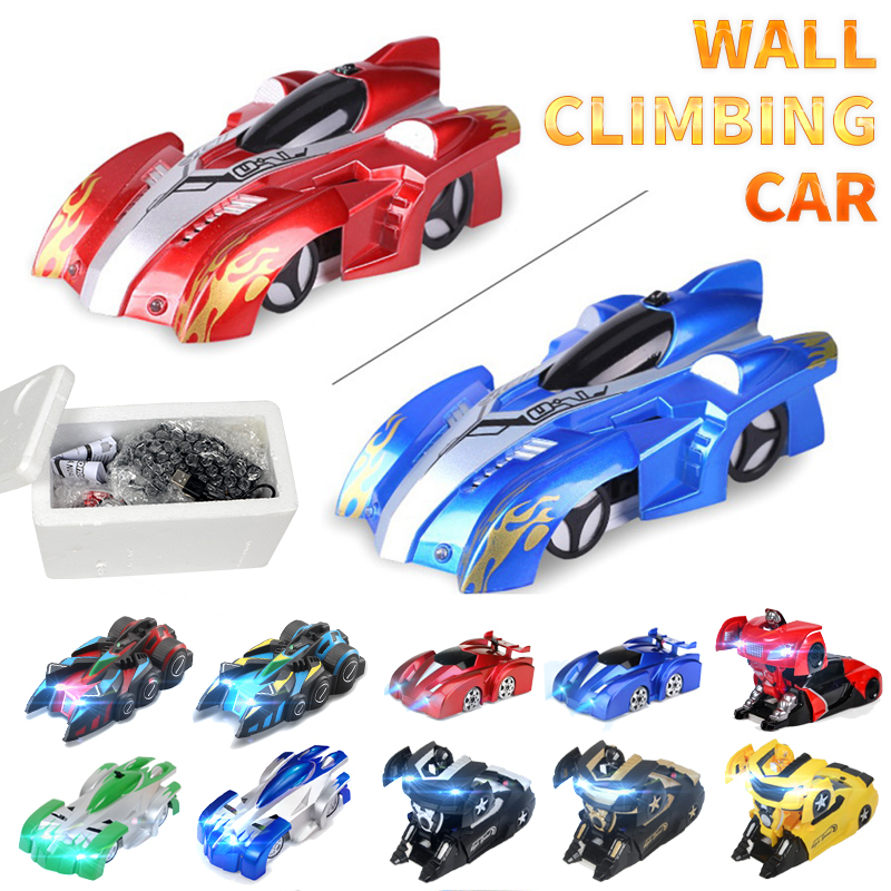 Anti Gravity Ceiling Wall Climbing Car Electric 360 Rotating Stunt RC Car Antigravity Machine Auto Toy Cars With Remote Control