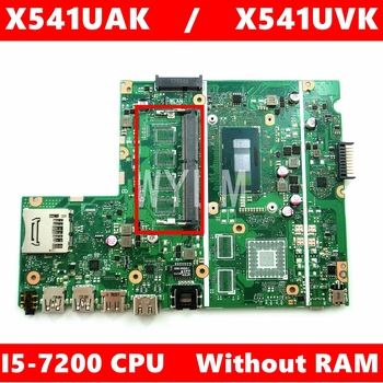 X541UAK i5-7200CPU Without RAM mainboard REV2.0 For ASUS X541UVK X541UAK X541U Laptop motherboard 100% Tested free shipping