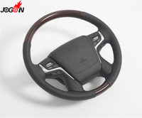 Accessories Car steering wheel replacement For Toyota Land Cruiser LC200 2008 2017 Car styling