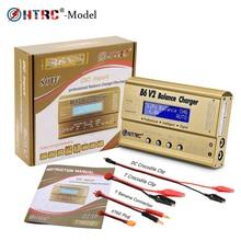 HTRC Imax B6 V2 80 Вт 6A RC баланс зарядное устройство для LiIon/LiFe/NiCd/NiMH/высокая мощность Батарея LiHV 15 в 6A адаптер переменного тока IMAX зарядное устройство