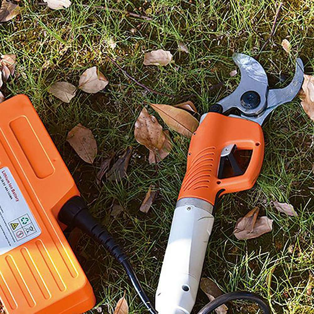 Tools : Electric Wireless Fruit Branch Shears 2 Scissors 30-45mm Branch Electric Shears Orchard Garden Pruning Garden Power Tools