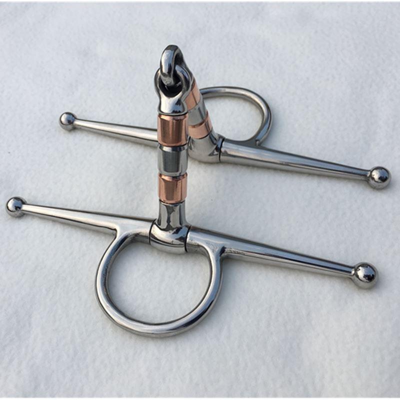 Stainless Steel Horse Bit  Full Cheek Bit 13cm Mouthpiece
