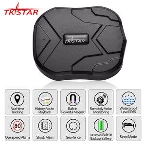 Image 1 - GPS Tracker Car TKSTAR TK905 5000mAh 90 Days Standby 2G Vehicle Tracker GPS Locator Waterproof Magnet Voice Monitor Free Web APP