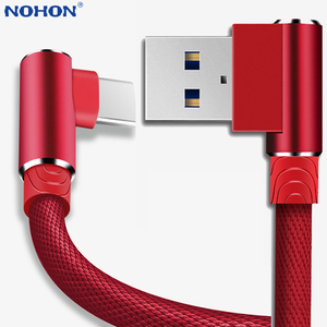 USB Type C Cable Charger Cord Data Wire For Samsung S9 S10 Plus Xiaomi Mi 9 Redmi Note 8 K20 Huawei Phone USBC usb-C Fast Charge