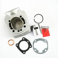 Motorrad Zylinder Kolben Set Kit mit Dichtung für PEUGEOT 46MM 12mm pin PGT46 65,3 cc airsal T6 103 104 105 Rcx Sp Spx Neue