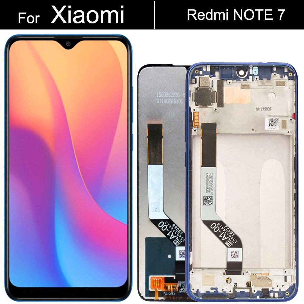 ЖК-дисплей для Xiaomi Redmi Note 7 с сенсорным экраном и дигитайзером в сборе
